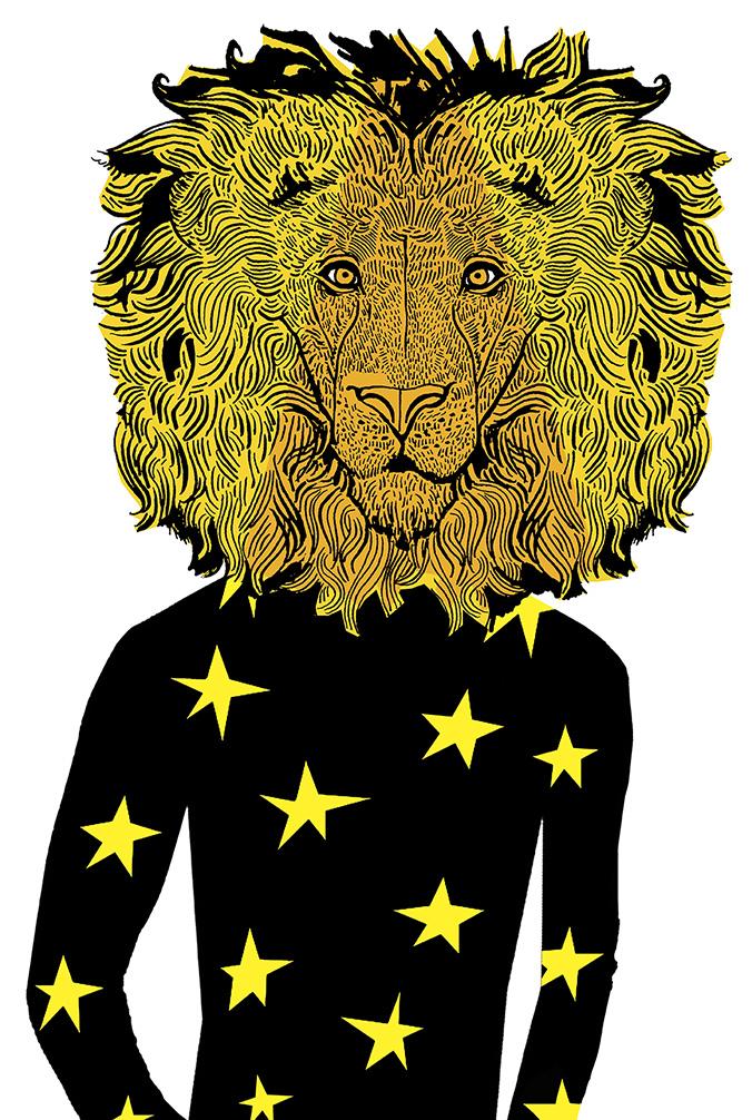 Maria Raymondsdotter | Lion Poster.