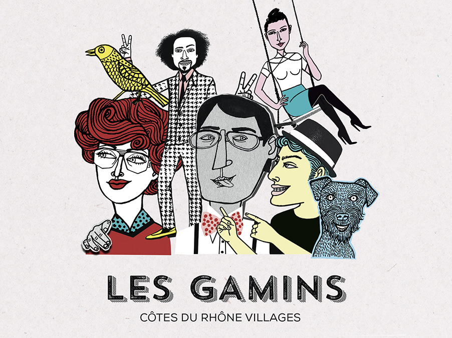 Maria Raymondsdotter | Les Gamins, House Red Wine. D&D London.