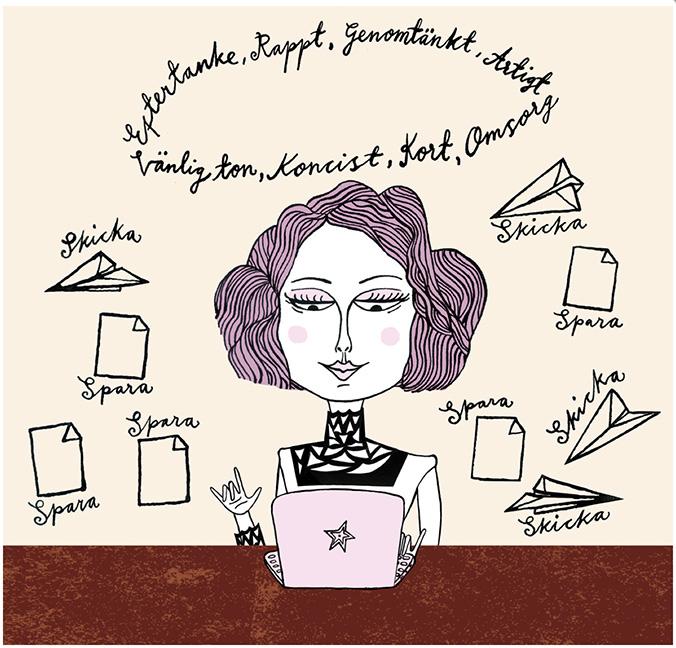 Maria Raymondsdotter | The importance of admin.
