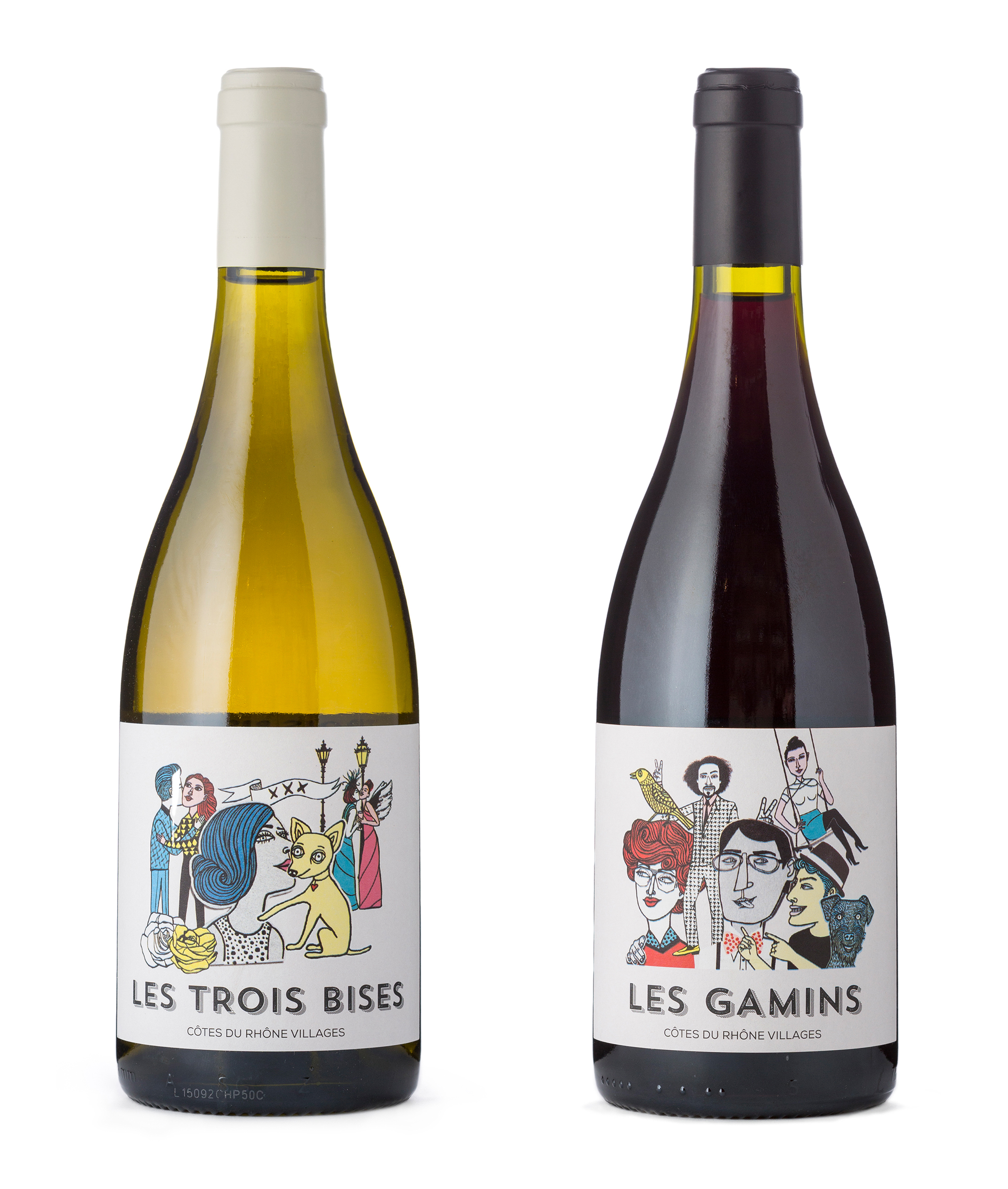 Maria Raymondsdotter | D&D London, Wine labels.